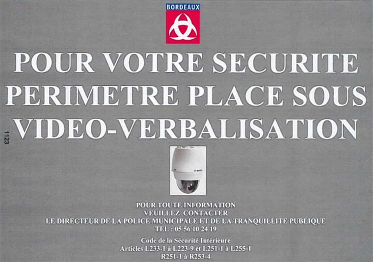 Bordeaux vid o verbalisation pv par cam ra for Feu vert echirolles comboire